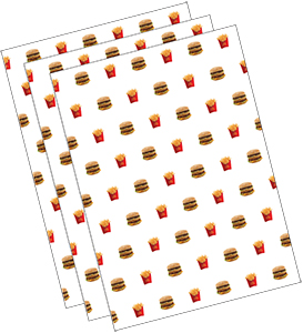 McDonald's Wrapping Paper