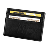 Millennium Leather Card Wallet - Black