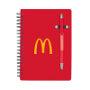 Red Pen Buddy Notebook
