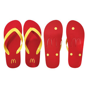 Custom Die Cut Flip Flops