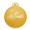 3 1/4 Round shatterproof ornament