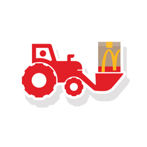 Tractor McDelivery Pin Pack