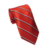 Men's Red, Black - White Striped