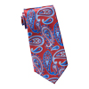 Men's Burgundy & Royal Tie