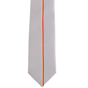 Men's Silver Stripe Tie