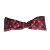 Ladies' Burgundy Snowflake Tie