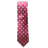 Men's Burgundy Snowflake Tie