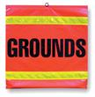 Grounds Flag- 16""