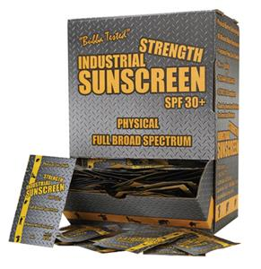 Industrial Strength Sunscreen- 100 Single Use