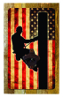 Lineman US Flag Bottle Opener