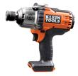 "Klein Tools 7/16"" High Torque Impact Wrench- Bare Tool BAT20-716"