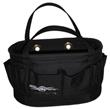 OVER SIZED Black Estex Hard Body Bag