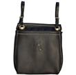Buckingham 3 pocket bag- Black
