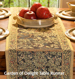 Garden of Delight Table Runner