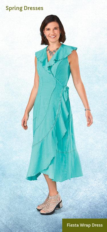 Fiesta Wrap Dress