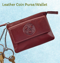 Leather Coin Purse/Card Wallet