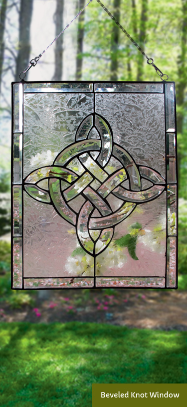 Beveled Knot Window