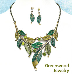 Greenwood Necklet & Earring Set