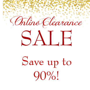 Shop our Online Clearance Sale