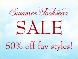 Shop our Summer Footwear Sale