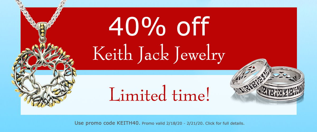 40% select Keith Jack jewelry