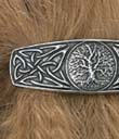 Tree Of Life Hair Barrette