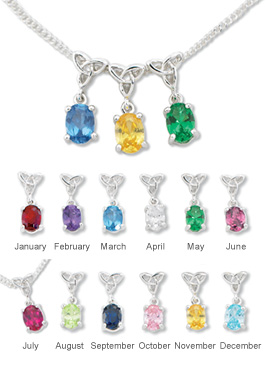 Mother's Birthstone Pendant
