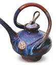 Swirl Artisan Teapot