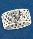 Thistle Knot Ring