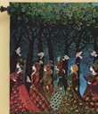 Women of the Sacred Grove Wallhanging
