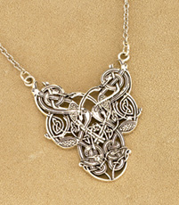 Four Birds Necklet in Sterling Silver