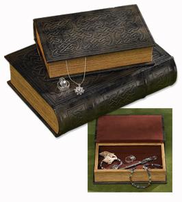 Celtic Knot Book Boxes