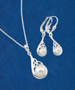 Silver and Pearl Essence Jewelry