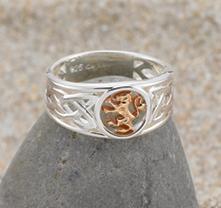 Lion Rampant Ring