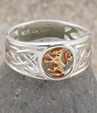 Lion Rampant Ring