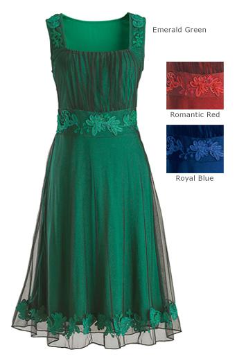 Celtic Holiday Festive Dress