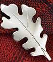 Oak Leaf Pin/Pendant
