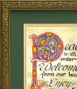 Peace to All Print - Peace to All Print, Gilded Frame