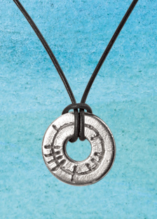 Circle of Life Ogham Pendant