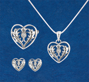 Thistle Heart Jewelry