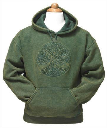 Embossed Tree of Life Sweatshirt