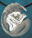 Mermaid Mother and Child Pendant