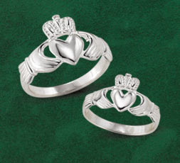 Irish Sterling Silver Claddagh Rings
