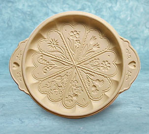 Meadow Flowers Shortbread Pan
