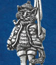 Fishing Cat Brooch