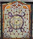 Celtic Knot Fireplace Screen