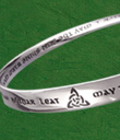 Irish Blessing Moebius Bracelet