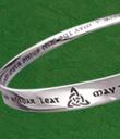 Irish Blessing Moebius Bracelet