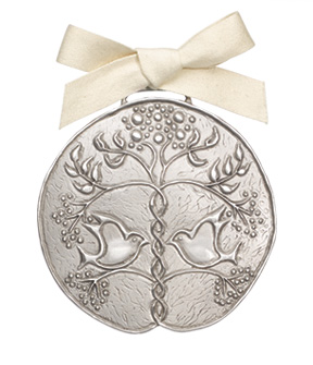Perfect Union Pewter Ornament