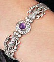 Hinged Thistle Bracelet